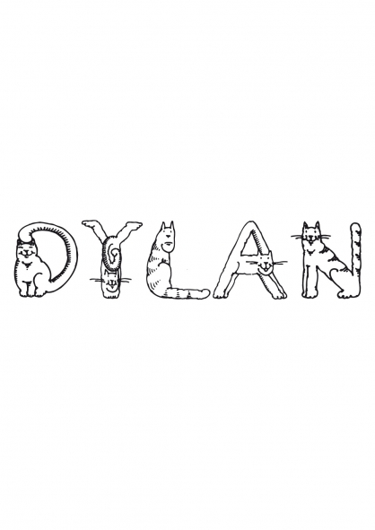 Coloriage Dylan
