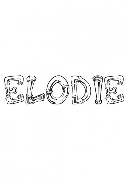 Coloriage Elodie