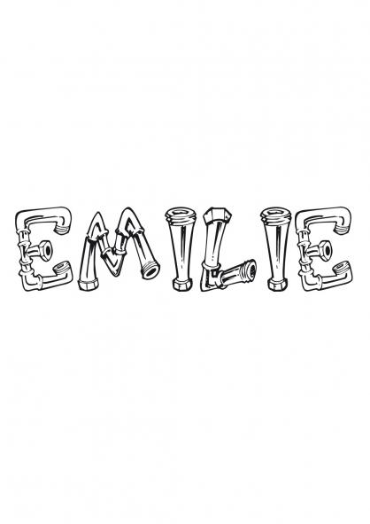 Coloriage Emilie