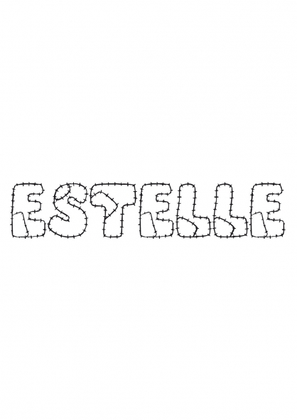 Coloriage Estelle