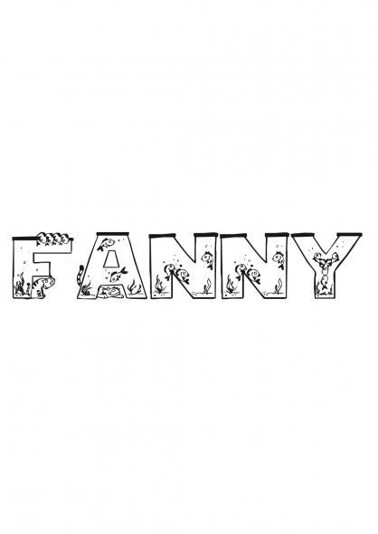 Coloriage Fanny
