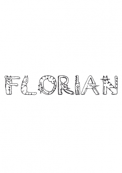Coloriage Florian