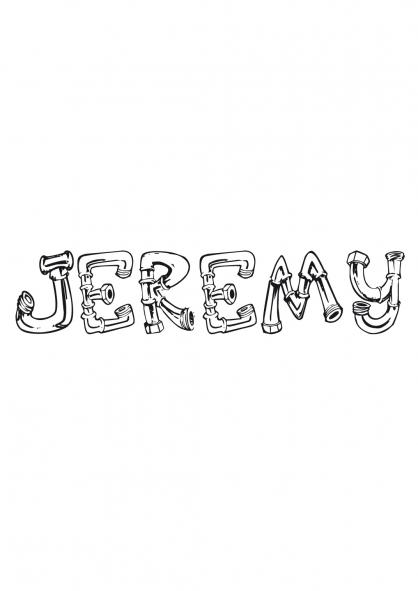 Coloriage Jérémy