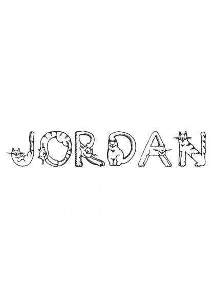 Coloriage Jordan