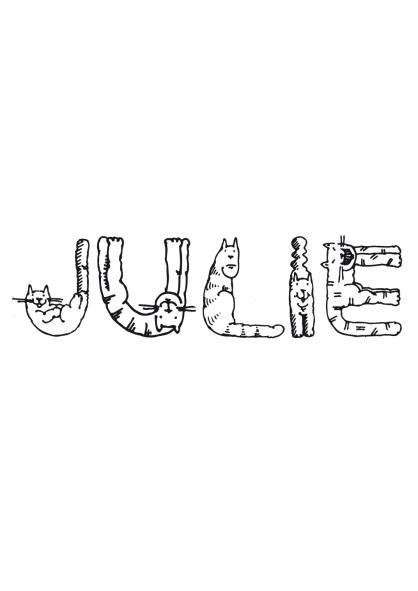 Coloriage Julie