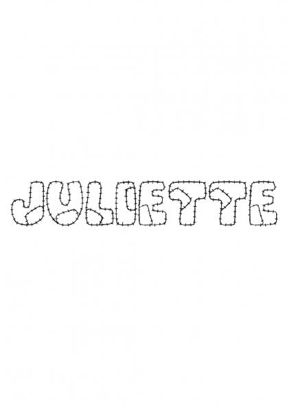 Coloriage Juliette
