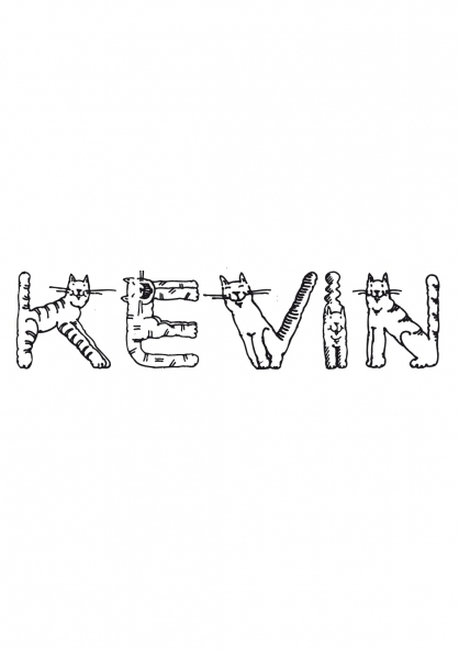 Coloriage Kevin