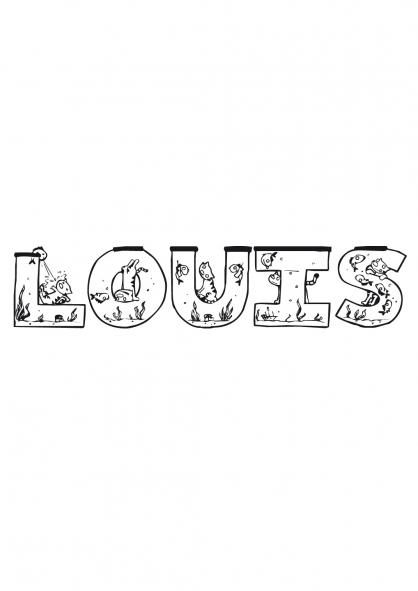 Coloriage Louis