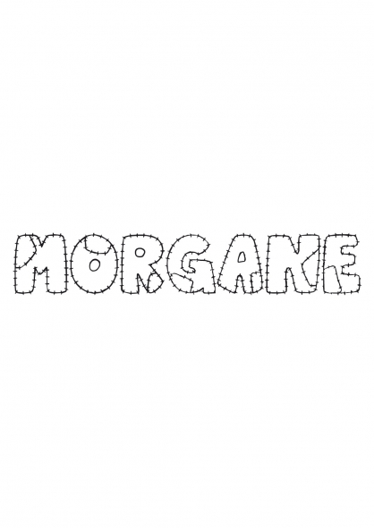 Coloriage Morgane