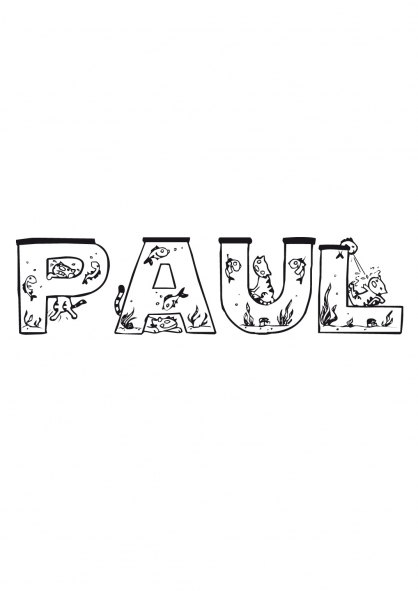 Coloriage Paul
