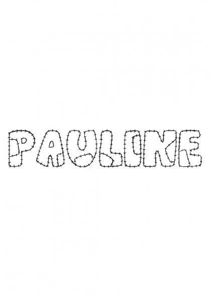 Coloriage Pauline