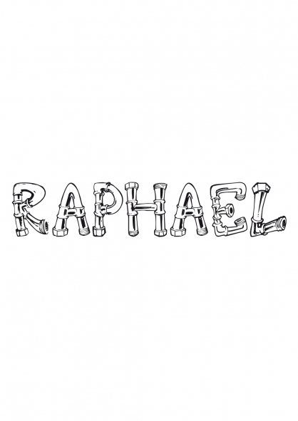 Coloriage Raphaël