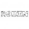 Coloriage Robin