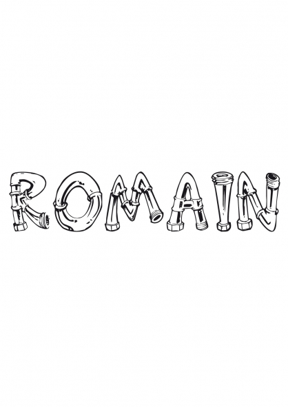 Coloriage Romain