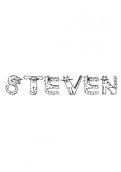 Coloriage Steven