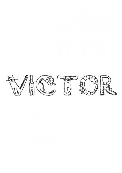 Coloriage Victor
