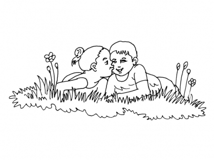 Coloriage Amour 1