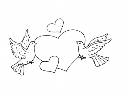 Coloriage Amour 11