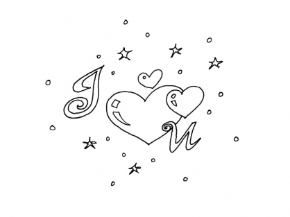 Coloriage Amour 3