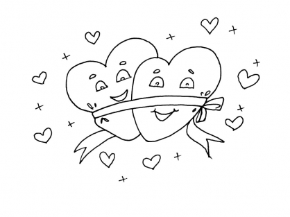 Coloriage Amour 4
