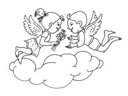 Coloriage Amour 8