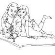 Coloriage Fête des mères 13