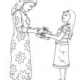 Coloriage Fête des mères 5