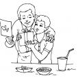 Coloriage Fête des pères 11
