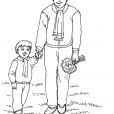 Coloriage Fête des pères 12