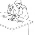 Coloriage Fête des pères 13
