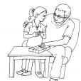 Coloriage Fête des pères 2