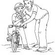 Coloriage Fête des pères 5