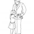 Coloriage Fête des pères 9