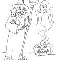 Coloriage Halloween : la nuit d'Halloween