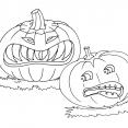 Coloriage Halloween : les citrouilles