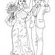 Coloriage Mariage 10