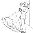 Coloriage Mariage 12