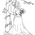 Coloriage Mariage 13