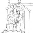 Coloriage Mariage 15