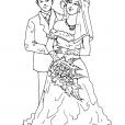 Coloriage Mariage 3