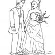 Coloriage Mariage 5