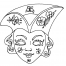 Coloriage Masque 8