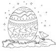 Coloriage Pâques 15
