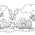 Coloriage Pâques 9