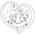 Coloriage Saint-Valentin 11