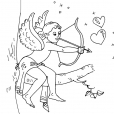 Coloriage Saint-Valentin 2