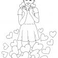 Coloriage Saint-Valentin 5