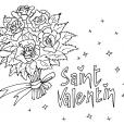 Coloriage Saint-Valentin 6
