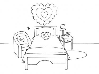 Chambre fille dessin design d 39 int rieur et id es de meubles - Dessin muurschildering chambre fille ...