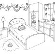 Coloriage Chambre 11